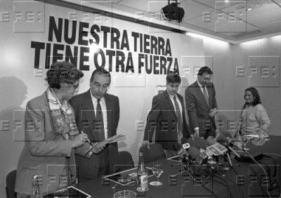 Presentación de la candidatura a las elecciones autonómicas