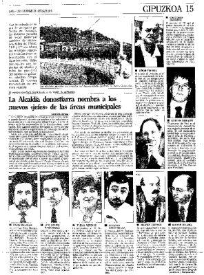 Ordóñez, primer teniente de alcalde y concejal de Urbanismo