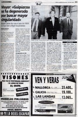 Ordóñez defiende que la única negociación con ETA es la de «los colores de los barrotes de la cárcel»