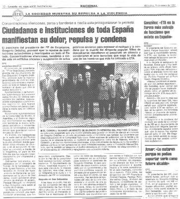 Condena política y ciudadana al asesinato de Ordóñez
