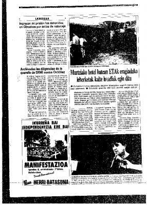 Archivada la querella de un sindicato de la Ertzaintza contra Ordóñez por injurias