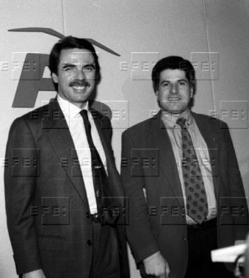 Una candidatura arropada por Aznar