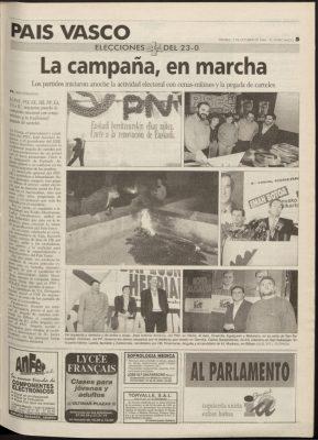 Ordóñez inicia su campaña visitando el lugar de un atentado