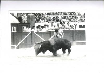 Ordóñez exhibe su afición a los toros
