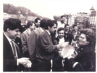 Ordóñez y Aznar, una campaña mano a mano