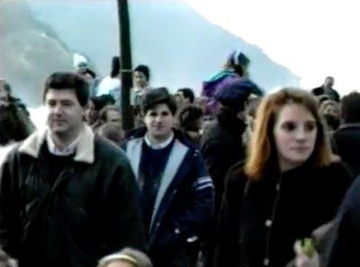 Recibimiento a los Reyes Magos en 1989