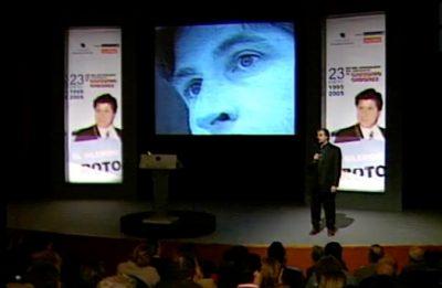 Homenaje por el X aniversario del asesinato de Gregorio Ordóñez