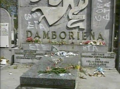 La tumba de Ordóñez, profanada por segunda vez
