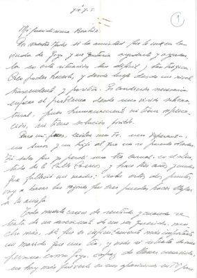 Las cartas de aliento de un coronel del Ejército
