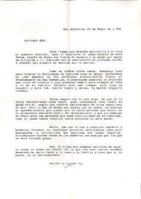 Carta de un ciudadano agradecido