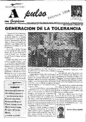 El periódico de Nuevas Generaciones en memoria de Ordóñez