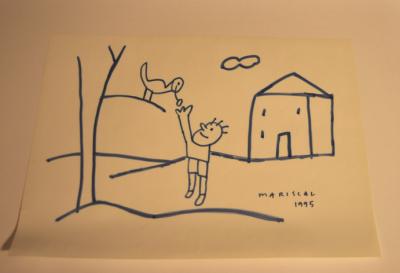 El dibujo de Mariscal para Javier Ordóñez