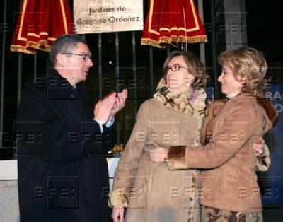 Su recuerdo, en Madrid
