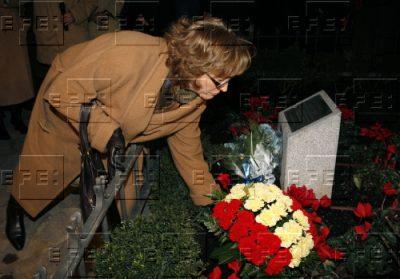 Ofrenda floral en Madrid