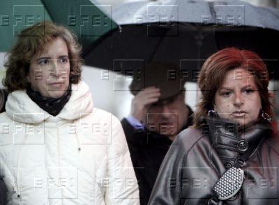 La viuda y la hermana de Ordóñez, unidas en Polloe