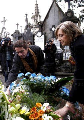 Aznar regresa a Polloe para honrar la memoria de Gregorio Ordóñez