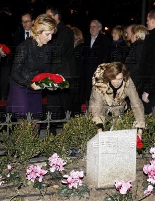 Un acto en memoria de Ordóñez en los jardines madrileños que llevan su nombre