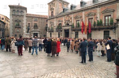 Silencio en Madrid