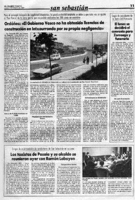 """La """"negligencia"""" del Gobierno Vasco"""