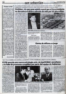 """Ordóñez denuncia una """"estafa moral"""""""