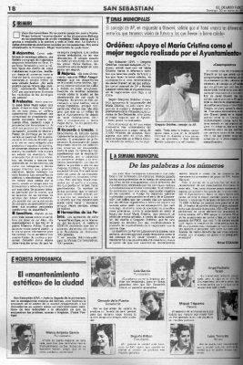 """El Hotel María Cristina, el """"mejor negocio"""""""