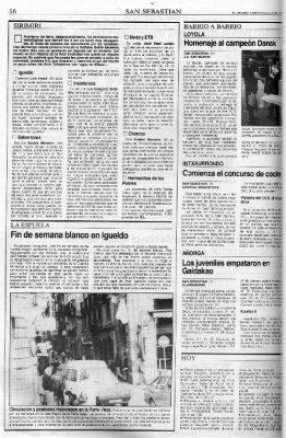 Ordóñez sale al paso de las críticas por los fuegos artificiales