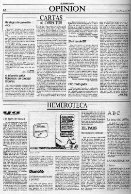 "Carta de un concejal a un vecino ""influyente"""