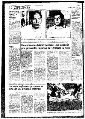 La denuncia de amenazas contra Ordóñez, desestimada