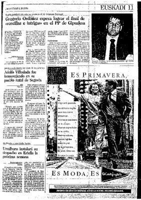 Reelegido presidente del PP de Guipúzcoa