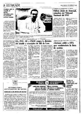 Ordóñez pide una medalla para un coronel asesinado por ETA