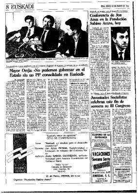 Fin de la refundación del PP vasco