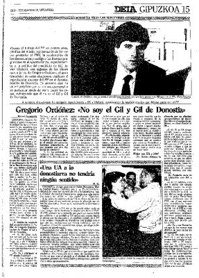 """""""No soy el Gil y Gil de Donostia"""""""