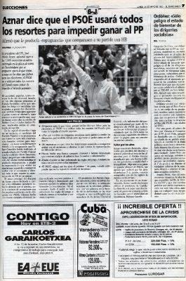 """""""El País Vasco no es el cortijo de Arzalluz"""""""
