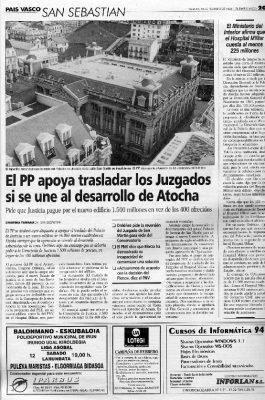 Ordóñez propone el traslado del Palacio de Justicia con la condición de que se desarrolle la zona