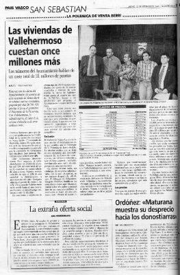 """El """"desprecio"""" del Gobierno vasco hacia los donostiarras"""