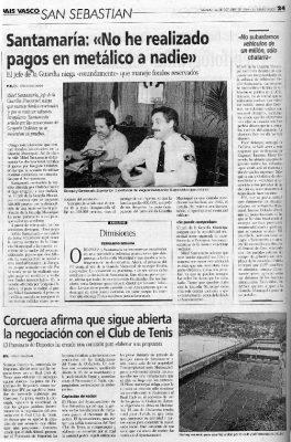 La denuncia de Ordóñez obliga al jefe de la Guardia Municipal a dar la cara