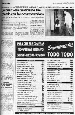 Los pagos a un confidente que corroboran las sospechas de Ordóñez