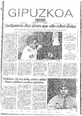 """""""Santamaría cobró y no debe ocupar su puesto"""""""
