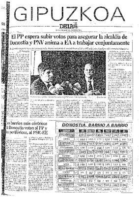 Ordóñez confía en lograr ocho concejales y asegurarse la alcaldía