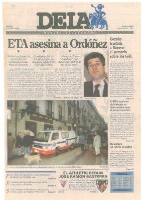 ETA asesina a Gregorio Ordóñez