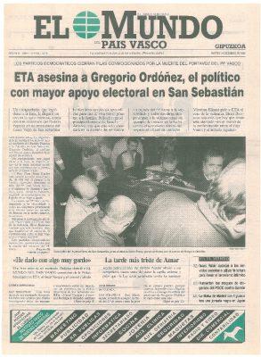 ETA asesina al político más apoyado en San Sebastián