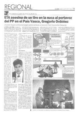 """María San Gil: """"He corrido detrás del asesino"""""""