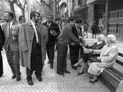 De campaña con Aznar