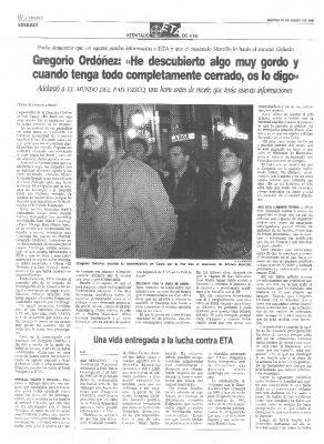 """Ordóñez advirtió en su última entrevista que había descubierto """"algo muy gordo"""""""