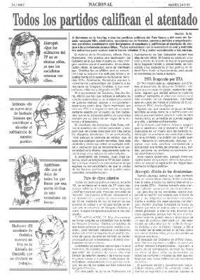 """Un """"ataque a la convivencia democrática"""""""