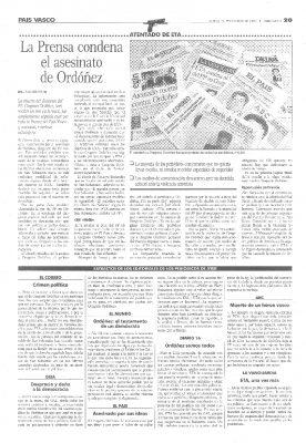 La prensa nacional y extranjera condena el crimen