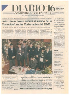 La portavoz de HB condena el asesinato de Ordóñez