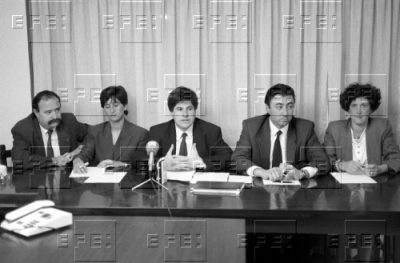 Los cinco concejales del PP