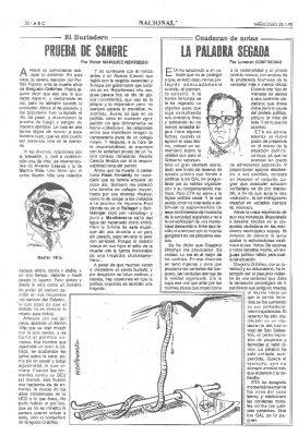 El ejemplo de Ordóñez y la actitud serena del PP