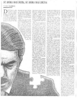 La hora más dura de José María Aznar